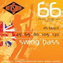 Rotosound RS665LD Swing Bass Standard Gauage 5 String Set